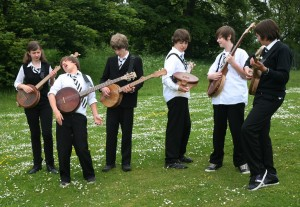Banjo week participants, June 2012
