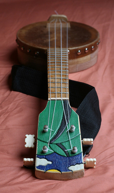 Morgan Barr's Banjolele